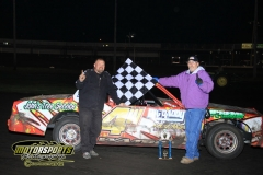 John Watson took top spot in the IMCA Hobby Stock division at Boone Speedway on Saturday, April 28, 2012.