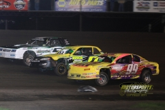 IMCA Stock Car action at the 2012 Frostbuster at Boone Speedway on Saturday, April 7, 2012.