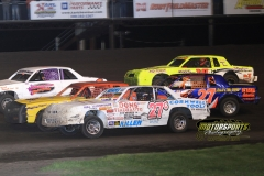 IMCA Hobby Stock action during the 2012 Frostbuster at Boone Speedway on Saturday, April 7, 2012