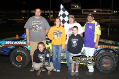 August 11, 2012 Stock Car Winner Donavon Smith