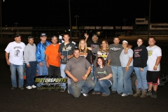 August 11, 2012 SportMod Winner Scott Davis
