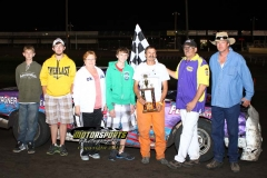 August 11, 2012 Hobby Stock Winner Craig Graham