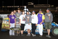 August 11, 2012 Modified Winner Jimmy Gustin