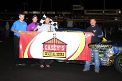 August 18, 2012 Hobby Stock Winner Bill Atcheson