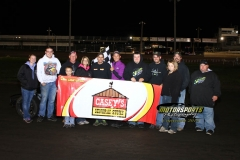 August 18, 2012 Modified Winner Jake Durbin