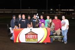 August 18, 2012 SportMod Winner Randy Roberts