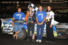 August 25, 2012 SportMod Winner Nick Roberts
