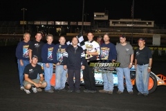 August 25, 2012 Modified Winner Cale Sponsler