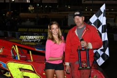 August 4, 2012 Mod-Lite Winner Mike Morrill