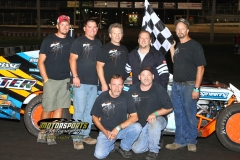 August 4, 2012 Modified Winner Cale Sponsler