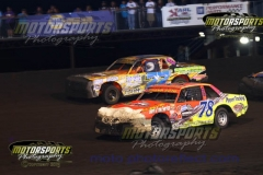 IMCA Hobby Stock action at Boone Speedway on Saturday, August 3, 2013.-2