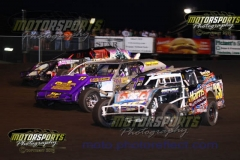 IMCA Northern SportMod action at Boone Speedway on Saturday, August 3, 2013.