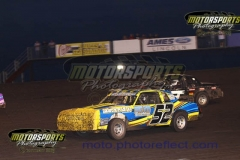 IMCA Hobby Stock action from Boone Speedway on Saturday, June 13, 2013.