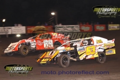 IMCA Northern SportMod action from Boone Speedway on Saturday, June 13, 2013.