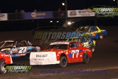 IMCA Stock Car action from Boone Speedway on Saturday, June 13, 2013.