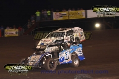 IMCA Modified action from Boone Speedway on Saturday, June 13, 2013.