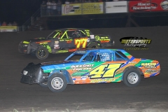 Hobby Stock Action from Saturday, July 21, 2012
