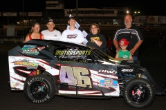July 21, 2012 Mod-Lite Winner Bryan Zehm