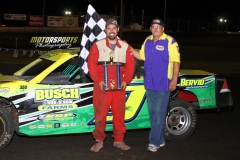 July 21, 2012 Stock Car Winner Jerry Gifford