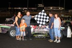 July 21, 2012 Hobby Stock Feature 1 Winner Danny Watson