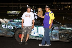 July 21, 2012 SportMod Winner Brian Miller