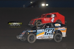 Mod Lite action at Boone Speedway on Saturday, June 2, 2012.