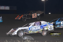 IMCA SportMod action at Boone Speedway on Saturday, June 2, 2012.