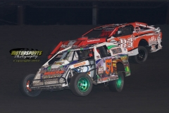 IMCA Modified action at Boone Speedway on Saturday, June 2, 2012.