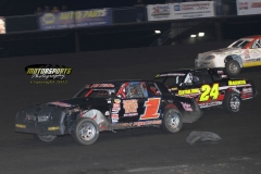 IMCA Stock Car action at Boone Speedway on Saturday, June 2, 2012.