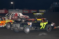 IMCA Hobby Stock action at Boone Speedway on Saturday, June 2, 2012.