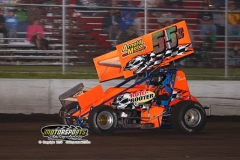 Sprint action at Boone Speedway on Saturday, June 29, 2013.
