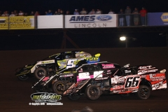 IMCA Northern SportMod action at Boone Speedway on Saturday, June 29, 2013.