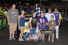June 30, 2012 Stock Car Winner Donavon Smith