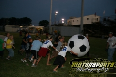 June 4, 2011, was Kid's Soccer Night at Boone Speedway.