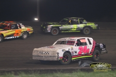IMCA Hobby Stock action at Boone Speedway on Saturday, May 12, 2012.