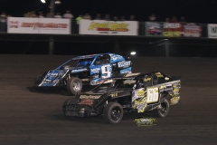 IMCA SportMod action at Boone Speedway on Saturday, May 19, 2012.