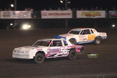 IMCA Hobby Stock action at Boone Speedway on Saturday, May 19, 2012.