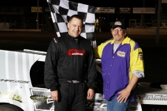 Todd Shute took a dominating win in the IMCA Modified 20-lapper on Saturday, May 19, 2012.