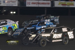 IMCA SportMod action at Boone Speedway on Saturday, May 26, 2012