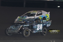 IMCA SportMod action at Boone Speedway on Saturday, May 26, 2012.