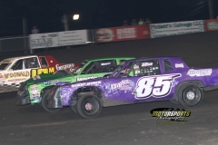 IMCA Hobby Stock action at Boone Speedway on Saturday, May 26, 2012.