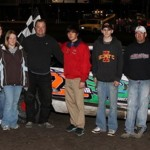 Rob Richards Wins Stock Car Feature