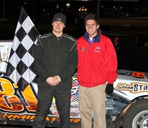 The April 23, 2011, second A-Main IMCA hobby stock winner at Boone Speedway was Devin Smith.