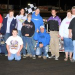 Mike Molle took the checkers on Saturday, May 7, 2011, at Boone Speedway in the IMCa Modified division.