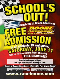 Free student admission 2011