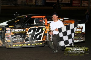 Ty Luellen in Victory Lane