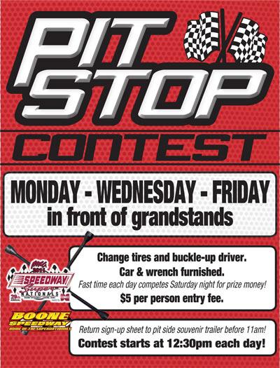 Pit Stop Contest