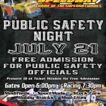 Public Safety Night Saturday, July 21