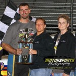 Schmidt snatches Stock Car win at the checkers