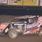 Faster than lightning, Strickler bolts to Modified qualifying win  